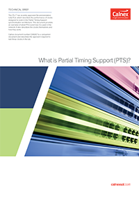 Front cover thumbnail - What is Partial Timing Support (PTS)?